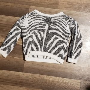 Little Girls FOREVER 21 Zebra Sweater